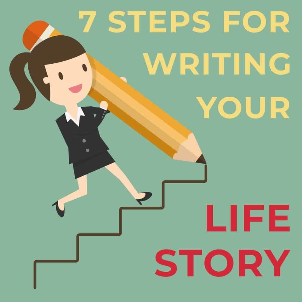7 Steps For Writing Your Life Story Blog Header storey-lines.com